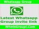 Latest Active WhatsApp Group Links